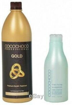 Cocochoco Brazilian Keratin Treatment Blow Dry Hair Straightening 250ml Kit + Hg