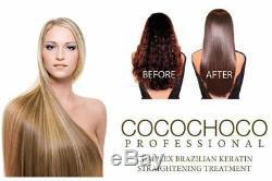Cocochoco Gold Brazilian Keratin Treatment Blow Dry Hair Straightening Multi Kit