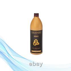 Cocochoco Professional Brazilian keratin treatment Gold 1000 ml for extra shine