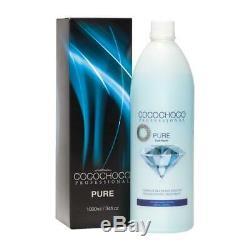 Cocochoco Pure Brazilian Keratin Treatment Blow Dry Hair Straightening 1litre Ki