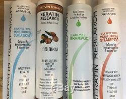 Complex Brazilian Global Brazilian Complex Keratin Hair Treatment 4 Bottles 3