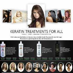 Complex Brazilian Keratin Blowout Straightening Smoothing Hair Treatment 4 Bottl