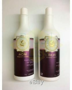 EternityLiss Brazilian Acai Keratin Blow Dry Treatment Shampoo Multi Kit