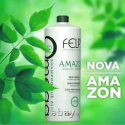 Felps Amazon Omega Zero Brazilian Progressive Keratin Treatment 1L (2x500ml)
