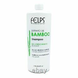 Felps Kit Bamboo Extract Complete Treatment Brazilian Keratin Hair Treatment