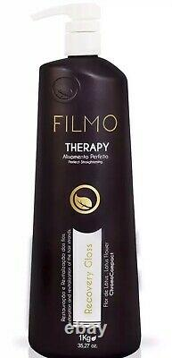 Filmo therapy Sorali Straigthening Treatment CLEARANCE! Keratin Brazilian 1Liter
