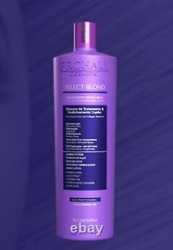 Floractive Keratin Brazilian PROHALL SELECT BLOND 1L volume-reducing treatment