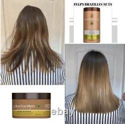 Hair Botox Treatment Brazilian Hair Mask Restoration Deep Hydration 1kg Felps