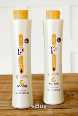 Honma Tokyo Bixyplastia Keratin Brazilian Hair treatment 2 Steps PlastHair