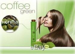 Honma Tokyo Coffee Green Shampoo 1 x 34oz Brazilian Keratin Hair Straightening