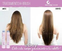 Honma Tokyo H-Brush Premium Keratin Brazilian Hair treatment 2x 1L Straightener