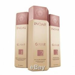 INOAR G-Hair Brazilian Keratin Treatment Blow Dry Hair Straightening