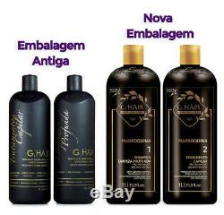 INOAR G Hair Brazilian Moroccan Keratin 2 x 1 L Keratin & Shampoo