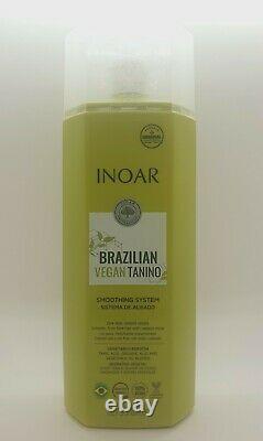 Inoar Brazilian Vegan Tanino Hair Smoothing Treatment 1L