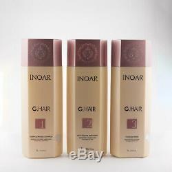 Inoar G-hair Brazilian Keratin Treatment, Hair Straightener