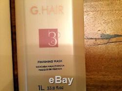 Inoar G-hair Brazilian Keratinbehandlung, Haarstraightener Neu