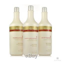 Inoar German G Hair Alema GHair Brazilian Keratin Progressive Treatment 1L 34oz