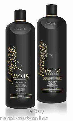 Inoar Moroccan Brazilian Keratin Treatment Blow Dry Hair Straightening 2 Litre