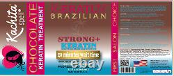 Kachita Spell Brazilian Keratin Treatment Strong+ Chocolate 32oz Original SEAL