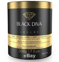 Kera Fruit Brazilian Keratin Black Diva Ybera 2 X 500ml Hair Straightener Liss
