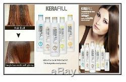 Kerafill Brazilian Keratin Hair Treatment/Shampoo/Reconstructor-Full Range