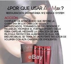 Keratin Agi Max Brazilian Hair Straightening Kit 3Steps 3x500m ON SALE NOW