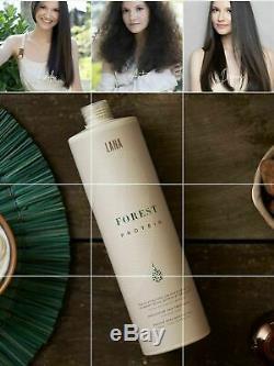 Keratin Brazilian Celulas Madres Hair Straightener LANA VEGANA 3 X 35 Oz/1L