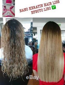 Keratin Brazilian Hair Liss Professional, 960ml-2 steps Shampoo + Keratin 32 Oz