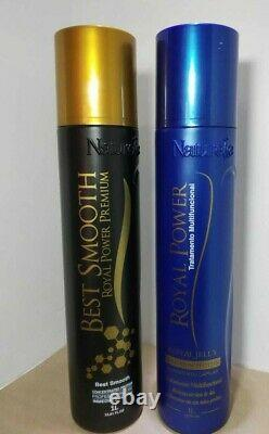 Keratin Brazilian best Smooth + Royal Power Organic Protein by Naturelle