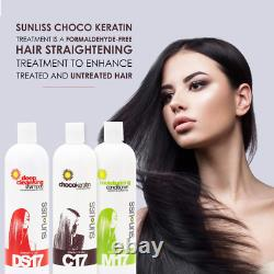 Keratin Hair Treatment In Brazilian Formula For Curly Hair Anti Frizz Restore Sm