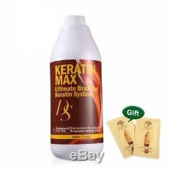 Keratin Max Ultimate Brazilian Keratin System 1000ml Repair Damaged Hair