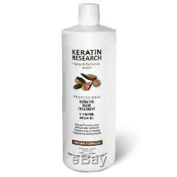Keratin Research Brazilian Keratin Blowout Hair Treatment, 34 Oz