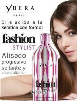 Kit 2 Keratin Brazilian, Ybera Discovery & Fashion Stylist 35 Oz Hair Treatment