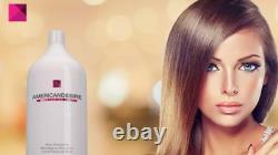 Kit American Desire Fusion smoothing 2 x 34oz Keratin brazilian Formol Free