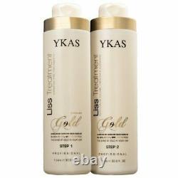 Kit Brazilian Keratin Ykas Gold 2 x 1 litro