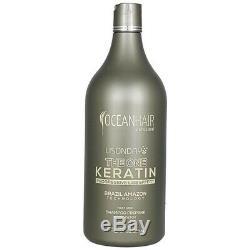 Lisonday The One Keratin Btox Formoldehyde Free Brazilian SET Ocean Hair