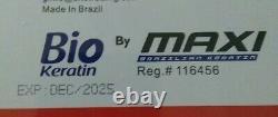 MAXI BIO novo Brazilian keratin Hair Straightening Treatment 1000ml/33.8 fl oz