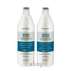 Monoi Tahiti Nutrahair Nutra Hair Brazilian Straightening Keratin Treatment 2.0L