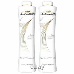 Moroccan Cacau Platinum Brazilian Keratin Hair Treatment 2x1000ml Nouar