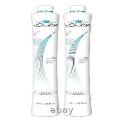 Nouar Professional Maxx Brazilian Keratin Treatment Kit 2x 1L 66fl. Oz