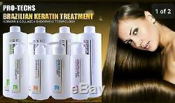 PRO-TECHS BRAZILIAN KERATIN Formaldehyde Free For BLONDE HAIR 33.8 oz / 1000ml