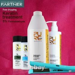 PURC Brazilian keratin straightening treatment 1000ml hair care products