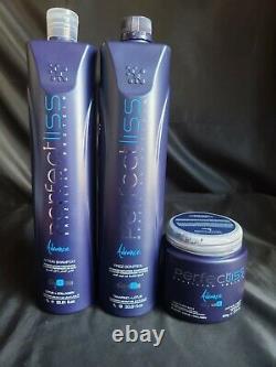 Perfect Liss Advance Brazilian Protein Progressive Brush 3x1 (New Package)