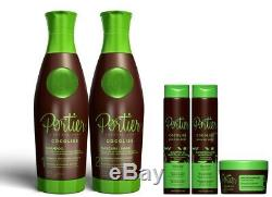 Portier Cocoliss 2x1000ml Brazilian Keratin Treatment Straightener Portier