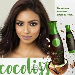 Portier Cocoliss hair straightening alignment keratin brazilian Launch 2x34oz