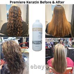 Premiere Keratin Professional Brazilian Blowout Hair Treatment Complex 1000ml