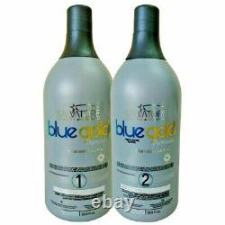 Premium Blue Gold Salvatore Brazilian Keratin Treatment Blowout 2x1L