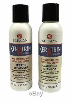 Professional Keratin Treatment Formaldehyde Free Original Brazilian Blowout Kit