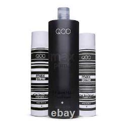 QOD MAX PRIME Brazilian Keratin Blow Dry Straightening Treatment Formaldehydfree