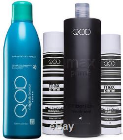 QOD World Famous OrganiQ Brazilian Keratin Blow Dry Hair Treatment Products